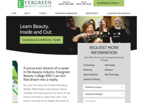 evergreenbeauty.edu