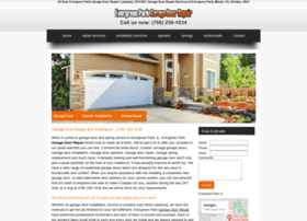 evergreenparkgaragedoorrepair.biz