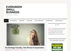 evergreensmallbusiness.com