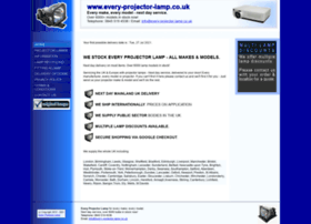 every-projector-lamp.co.uk