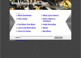 every-song-lyrics.com
