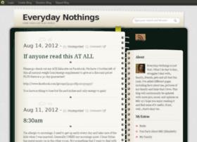 everydaynothings.blog.com