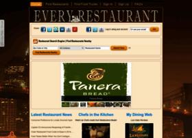 everyrestaurantinthecity.com