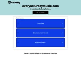 everysaturdaymusic.com
