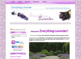 everything-lavender.com