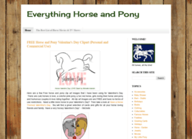 everythinghorseandpony.blogspot.com