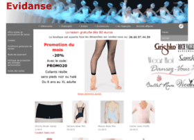 evidanse.kingeshop.com