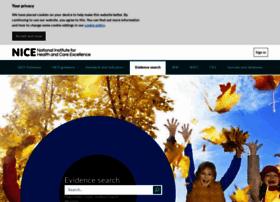 evidence.nhs.uk