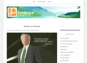 evidenceofdesign.com