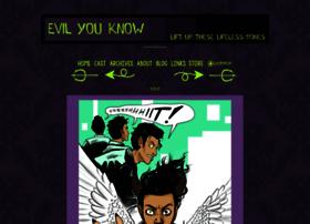 evilyouknow.thecomicseries.com