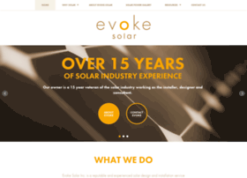 evokesolar.com
