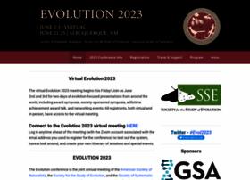 evolutionmeeting.org