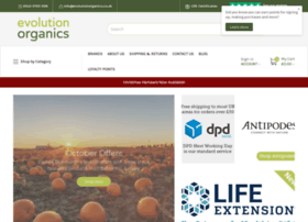 evolutionorganics.co.uk
