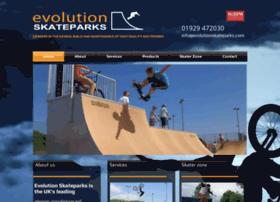 evolutionskateparks.com