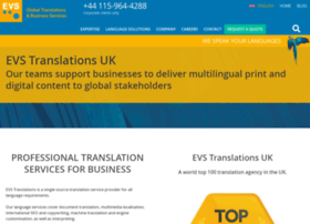 evs-translations.co.uk