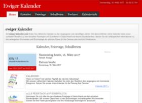 ewiger-kalender.com