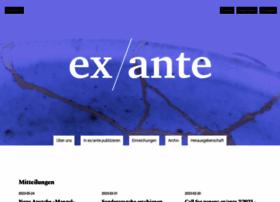 ex-ante.ch