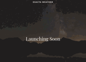 exactaweather.com