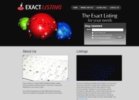 exactlisting.com