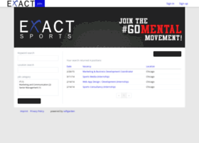 exactsports.softgarden.io