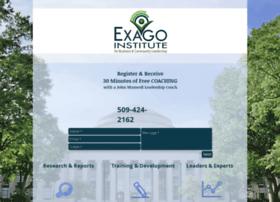 exagoinstitute.com