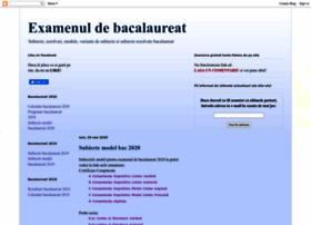 examenebac.blogspot.ro