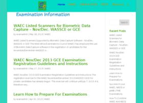 Waec gce result 2011 websites and posts on waec gce result 2011