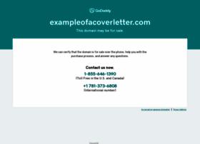 exampleofacoverletter.com