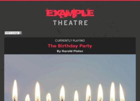 exampletheatre.com