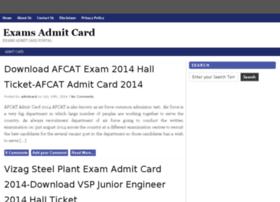 examsadmitcard.com