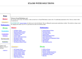 examswithsolutions.org