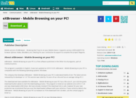 exbrowser-mobile-browsing-on-your-pc.soft112.com