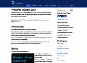 excel-easy.com