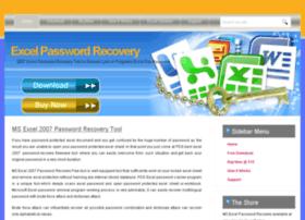 excel2007passwordrecoveryfree.excelpasswordrecovery.net