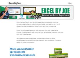 excelbyjoe.com
