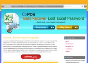 excelpasswordremover.recoverlostexcelpassword.com
