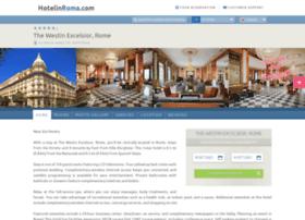 excelsior.hotelinroma.com