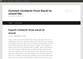 exceltovcard.blog.com