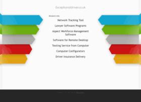 exceptionaldriver.co.uk