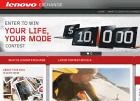 exchange.lenovo.com