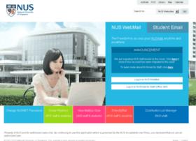 exchange.nus.edu.sg