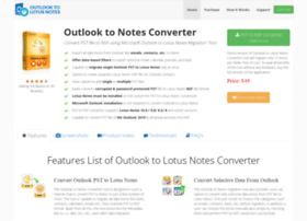 exchange.outlooktolotusnotes.com