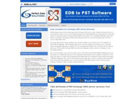 exchange2003serverrecovery.edbtopstsoftware.com