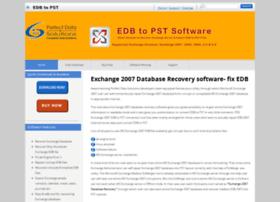exchange2007databaserecovery.edbtopstsoftware.com
