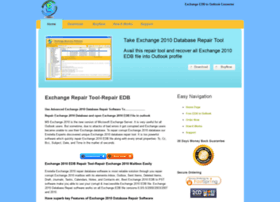exchange2010databaserepair.edbtooutlook.com