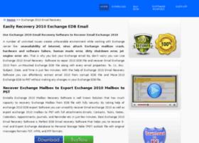 exchange2010emailrecovery.edbpstconverter.com