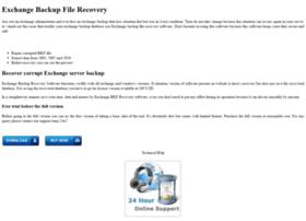 exchangebackupfilerecovery.exchangefilerecovery.net