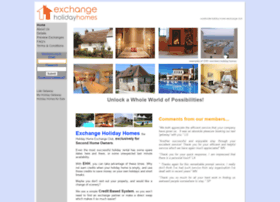 exchangeholidayhomes.com