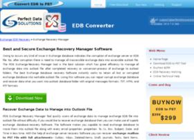 exchangerecoverymanager.edb2pst.info