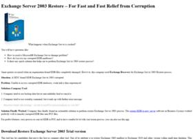 exchangeserver2003restore.restoreedbfiles.com